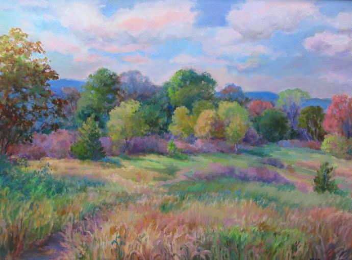"""October Meadow - 30"""" x 40"""""""