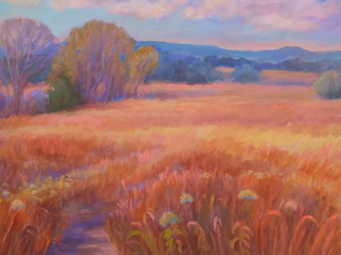 """Kansas Prairie Grass - 24"""" x 30"""